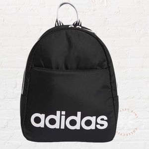 ADIDAS Core Mini Backpack Black White